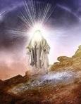 Jesus face aglow