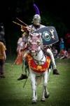 white horseman