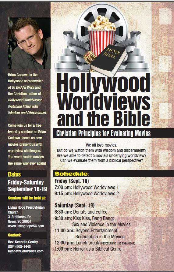 Leaflet Hollywood Worldviews