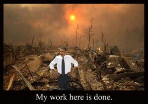 Obama work done