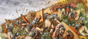 Romans fighting
