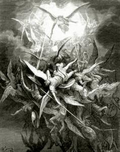 Satan falling 1