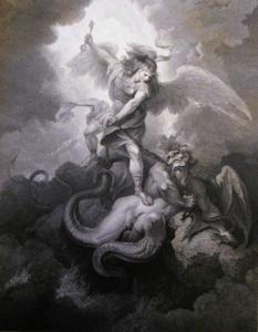 Satan falling 2