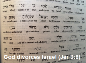 jer 3-8 divorce 2