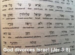 jer 3-8 divorce 2