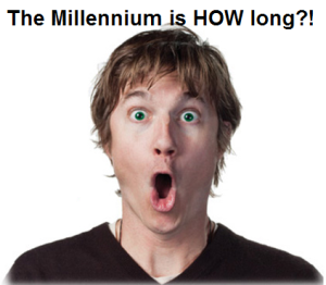 Millennium exaggerated