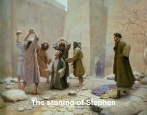 Stephen stoned 2