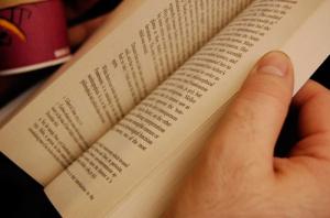 thumbing-book
