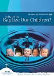 why-do-we-baptize-children